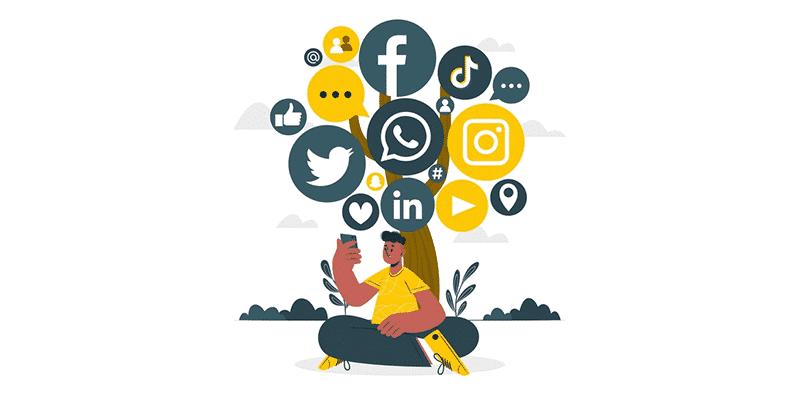 오가닉 트래픽 소셜미디어