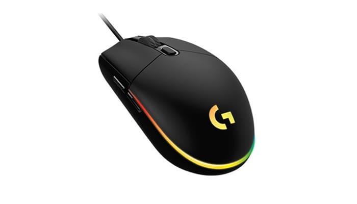 로지텍 G102 LIGHTSYNC 유선 게이밍 마우스
