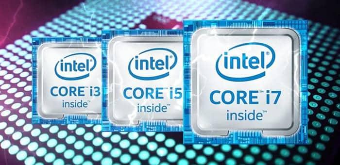 인텔 i3, i5, i7 가격 차이