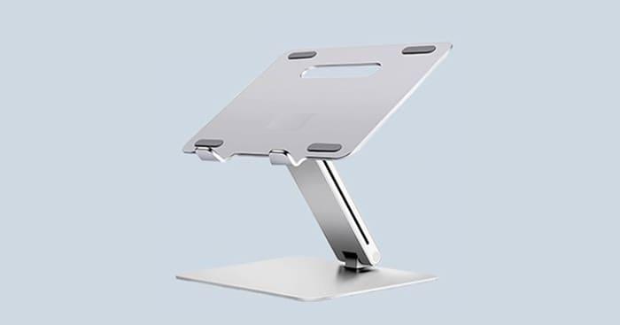 애니클리어 알루미늄 노트북 각도 높이 조절 스탠드 AP-8