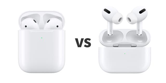 에어팟 프로 vs 2세대 비교
