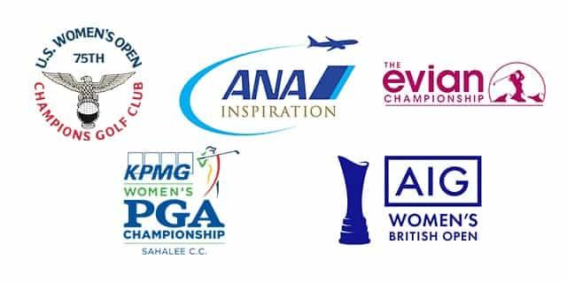 LPGA 메이저 대회 로고